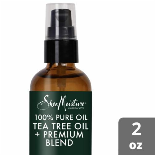 Shea Moisture Tea Tree + Premium Blend Head to Toe Clarifying Essential Oil Perspective: top