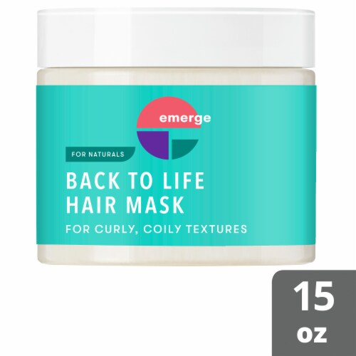 Emerge Deep Condition & Revive Back to Life Treatment Hair Mask Perspective: top