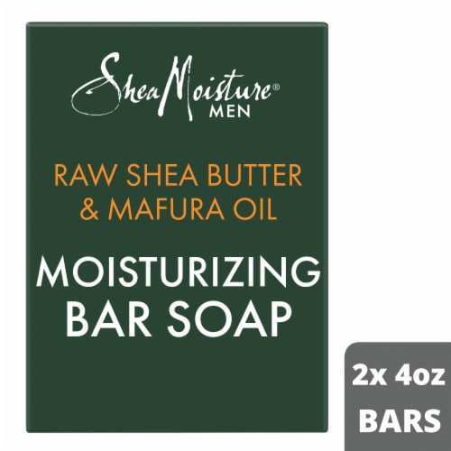 Shea Moisture® Men Moisturizing Bar Soap Cleanser Perspective: top