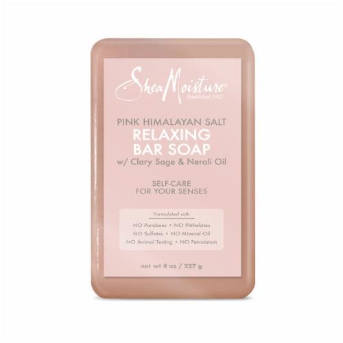 Shea MoisturePink Himalayan Salt Relaxing Soap Bar Perspective: top