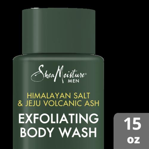 Shea Moisture Deep Clean Body Wash Perspective: top