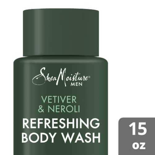 Shea Moisture Refreshing Body Wash Perspective: top