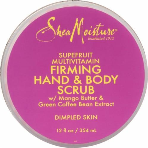 Shea Moisture® Superfruit Complex Hand & Body Scrub Perspective: top