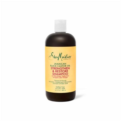 Shea Moisture Jamaican Black Castor Oil Strengthen Grow & Restore Shampoo Perspective: top