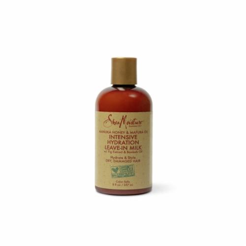 Shea Moisture® Manuka Honey & Mafura Oil Leave-In Milk for Dry Hair Perspective: top