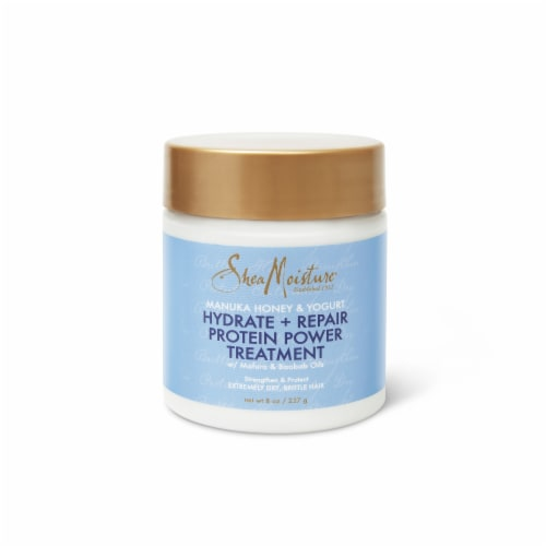 Shea Moisture Manuka Honey & Yogurt Hydrate + Repair Protein Power Treatment Perspective: top