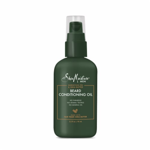 SheaMoisture Men Beard Conditioning Oil Perspective: top