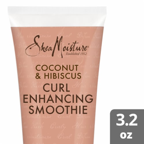 Shea Moisture Coconut & Hibiscus Curl Enhancing Smoothie Perspective: top