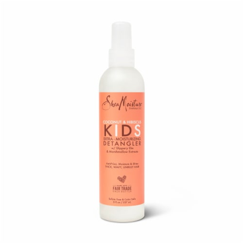 SheaMoisture® Kids Coconut & Hibiscus Detangler with Shea Butter for Curly Hair Perspective: top