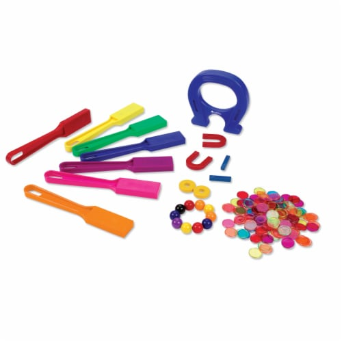Learning Resources® Super Magnet Lab Kit Perspective: top