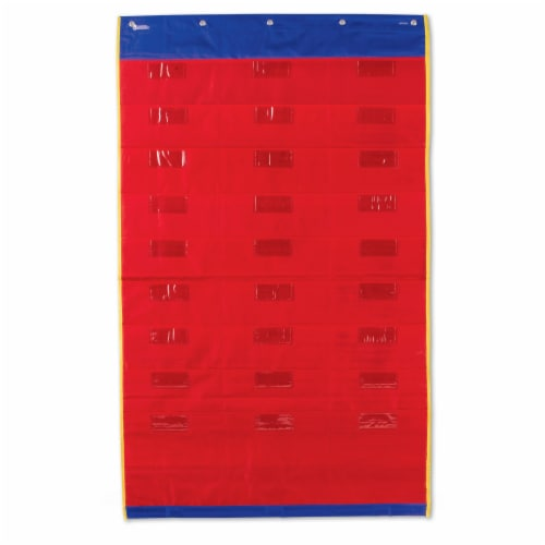 Learning Resources® Organization Station Pocket Chart Perspective: top