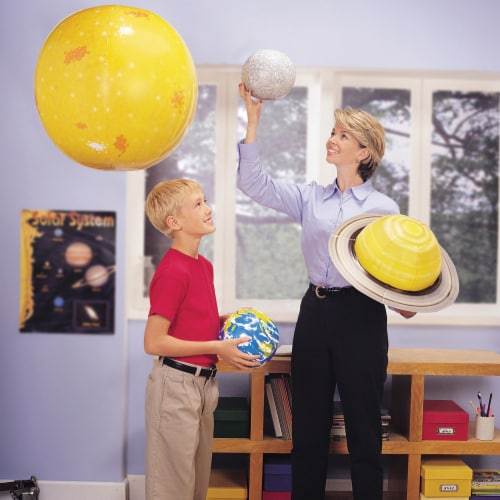Learning Resources® Giant Inflatable Solar System Set Perspective: top