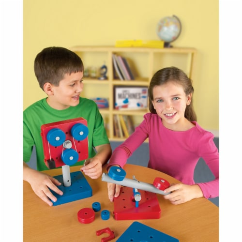 Learning Resources® Simple Machines Set Perspective: top