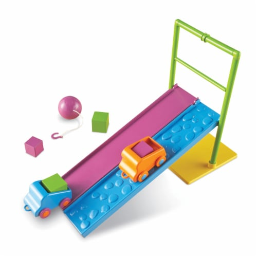 Learning Resources® Force and Motion Activity Set Perspective: top