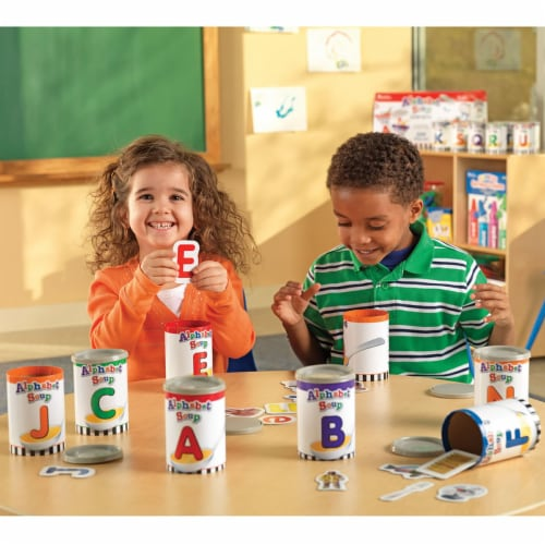 Learning Resources Alphabet Soup Sorters Perspective: top