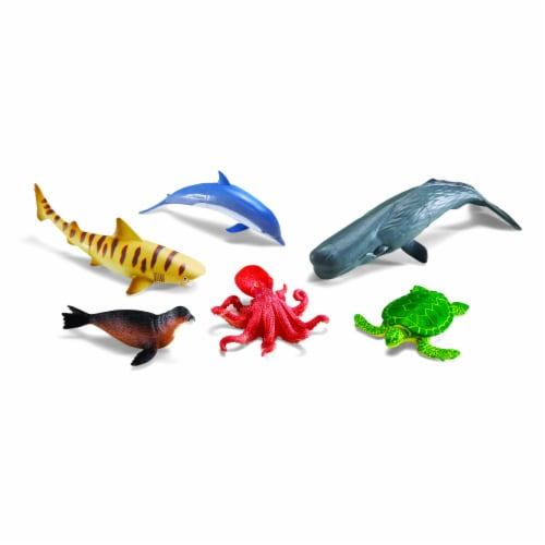 Learning Resources Jumbo Ocean Animals Perspective: top