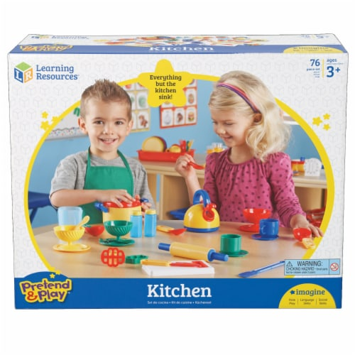 Learning Resources® Kitchen Set Perspective: top