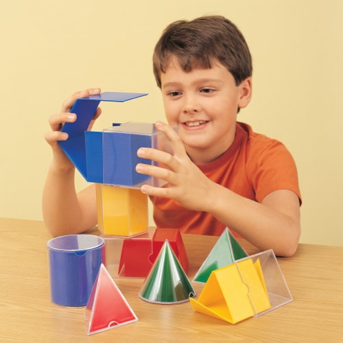 Learning Resources® Folding Geometric Shapes™ Perspective: top