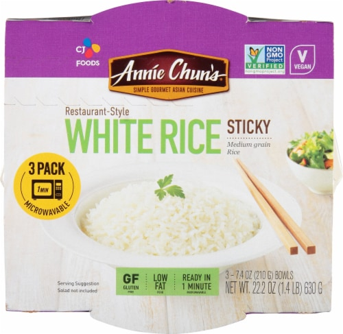 Annie Chun's Sticky White Rice Perspective: top