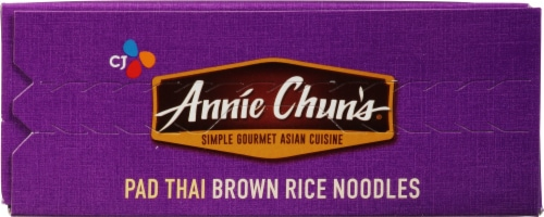 Annie Chun's Pad Thai Brown Rice Noodles Perspective: top