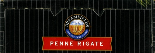 Dreamfields Penne Rigate Pasta Perspective: top