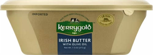 Kerrygold Irish Butter with Olive Oil Perspective: top