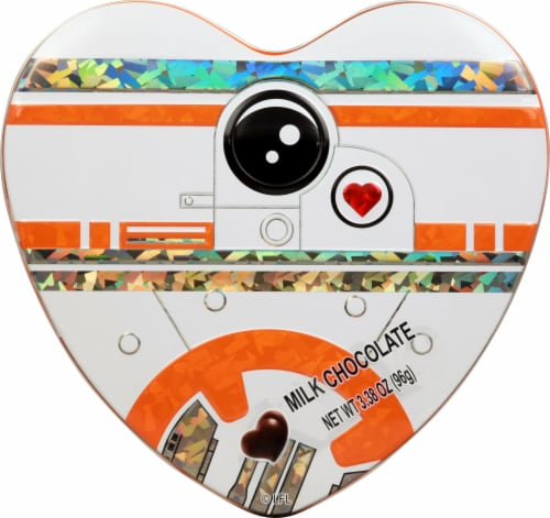 Galerie Star Wars Heart Shaped Tins Perspective: top