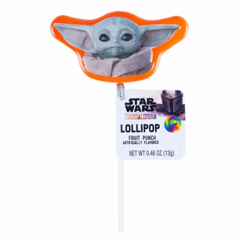 Star Wars Mandalorian Lollipop Birthday Party Favors with Collectible Keepsake Tin Perspective: top