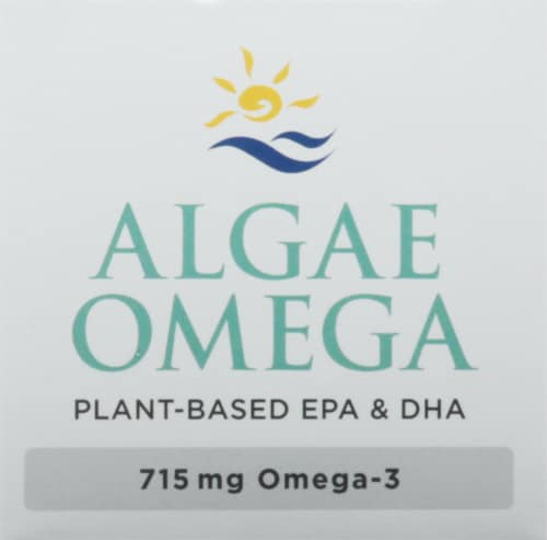 Nordic Naturals Algae Omega Soft Gels 715mg Perspective: top