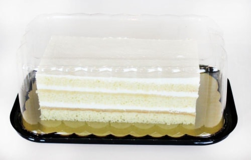 Bakery Lemons & Cream Cake Perspective: top