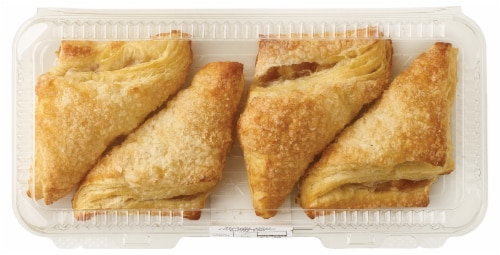 Bakery Fresh Goodness Apple Turnovers 4 Count Perspective: top
