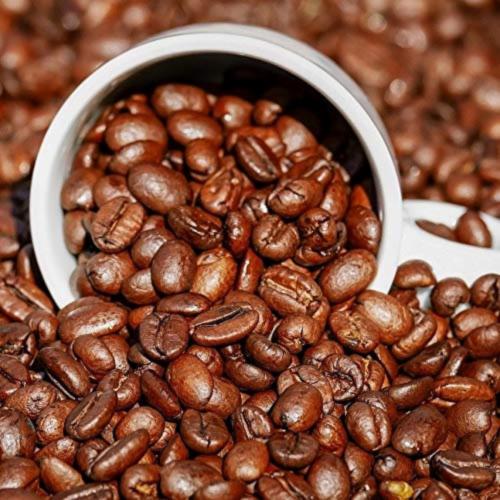 Premium Kaya Kopi Lam Dong Vietnam Energy Robusta Arabica Roasted Ground Coffee Beans 12 oz Perspective: top