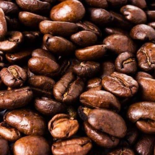 Premium Kaya Kopi Tarrazu Costa Rican Geisha Arabica Roasted Whole Coffee Beans 12 Oz Perspective: top