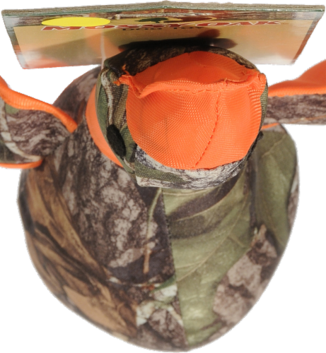 Multipet Mossy Oak Plush Duck Perspective: top