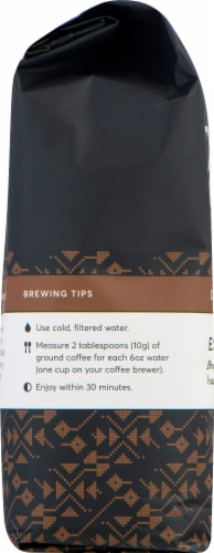Peet's Coffee Espresso Forte Dark Roast Whole Bean Coffee Perspective: top