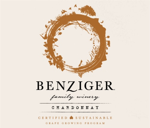 Benziger Chardonnay White Wine Perspective: top