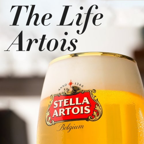 Stella Artois Lager Perspective: top