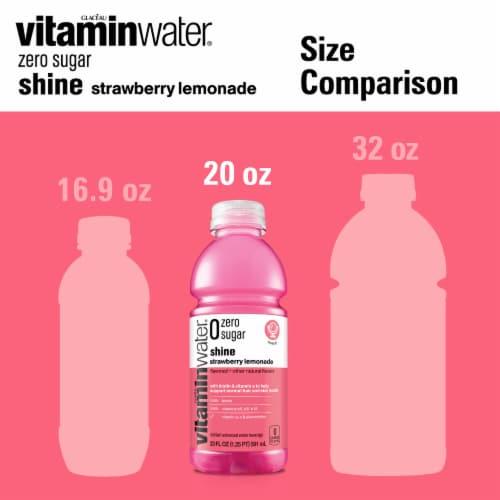 Vitaminwater Zero Shine Strawberry Lemonade Perspective: top