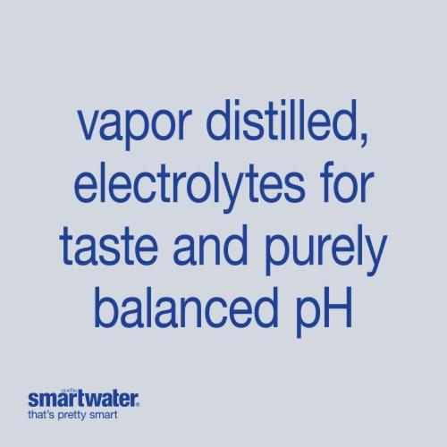 Smartwater® Vapor Distilled Water Perspective: top