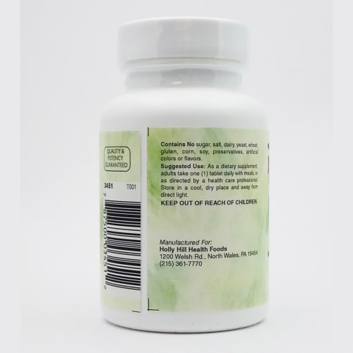 Holly Hill Health Foods, Folic Acid, 100 Tablets Perspective: top