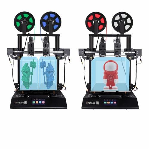 Tenlog TMC2209 Driver TL-D3 Pro Dual Extruder 3D Printer with Duplicate Printing Perspective: top