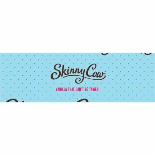 Skinny Cow Vanilla Gone Wild Low Fat Ice Cream Sandwiches Perspective: top