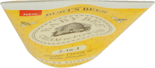 Burt's Bees Baby Bee Cream to Powder Perspective: top