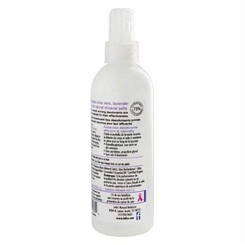 Lafe's Deodorant Spray Lavender - 8 fl oz - Pack of 3 Perspective: top