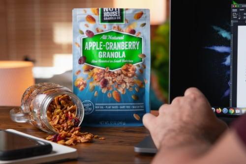 Granola, Apple-Cranberry, 3x12oz Perspective: top