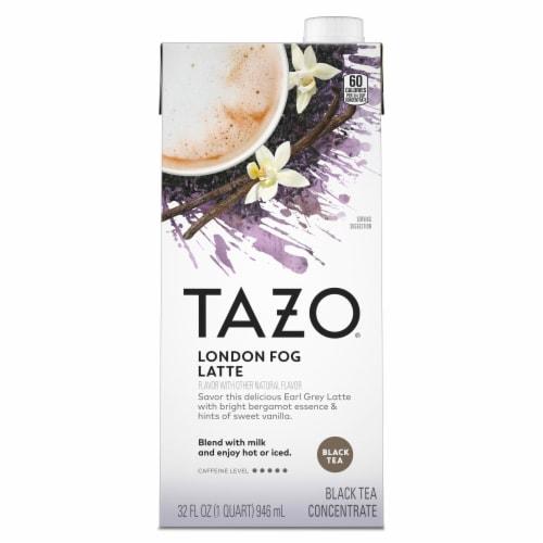 Tazo® London Fog Latte Black Tea Concentrate Perspective: top
