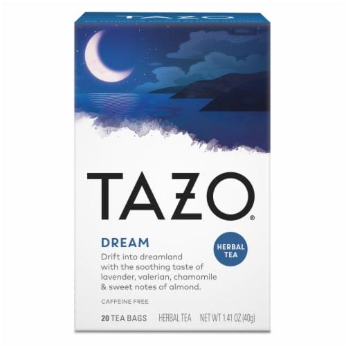 Tazo Dream Caffeine Free Herbal Tea Bags Perspective: top