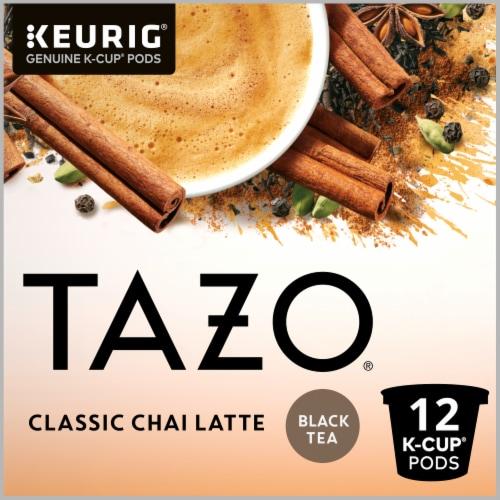 Tazo Classic Chai Tea Latte K-Cup Pods Perspective: top