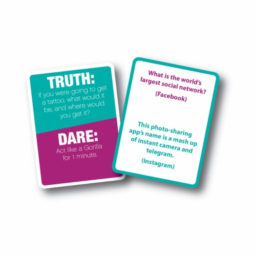 University Games Truth or Dare Card Game Perspective: top