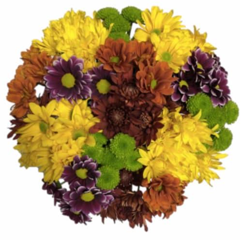 Jumbo Poms Assorted Bouquet Perspective: top